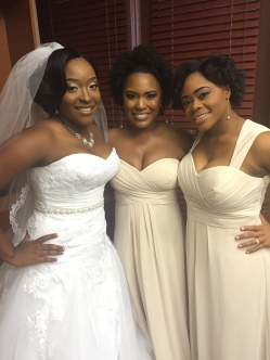 I was a bridesmaid in my bestie CeeCee's wedding! #SimplySmiekle